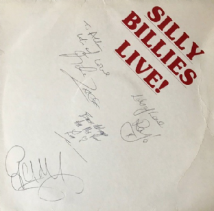 Silly Billies (The) - Silly Billies Live! (LP) (Signed) (EX-/G)